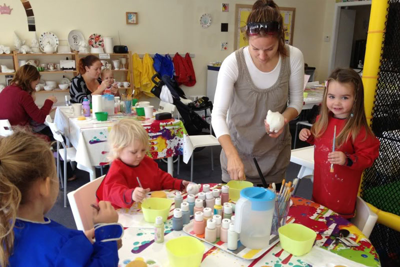Kids Parties Joondalup Pottery Playroom Joondalup - Children's birthday parties joondalup